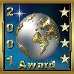 2001 4 Star Award
