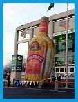 Giant Tequila Bottle